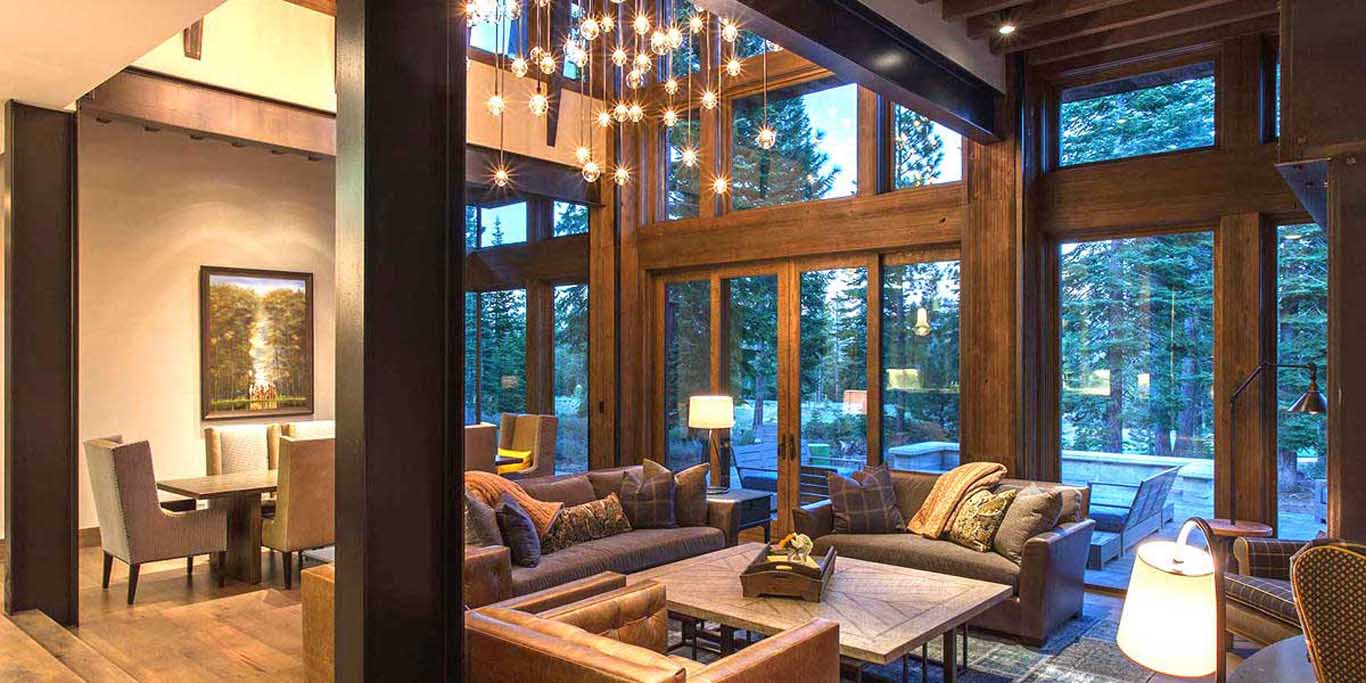 Martis Camp Living Room