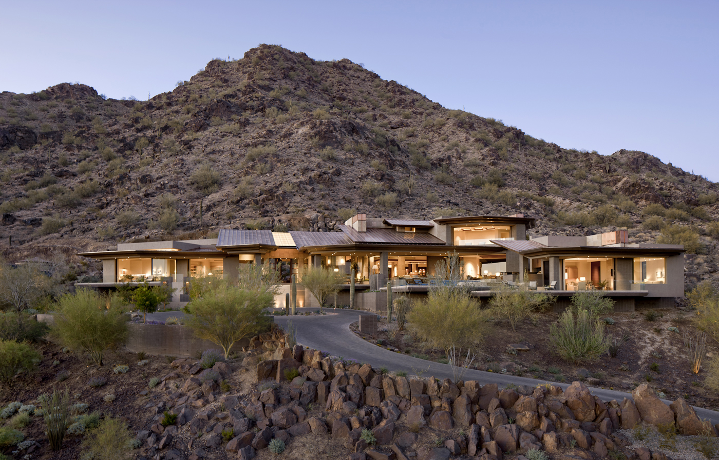 Mountainside House In Arizona