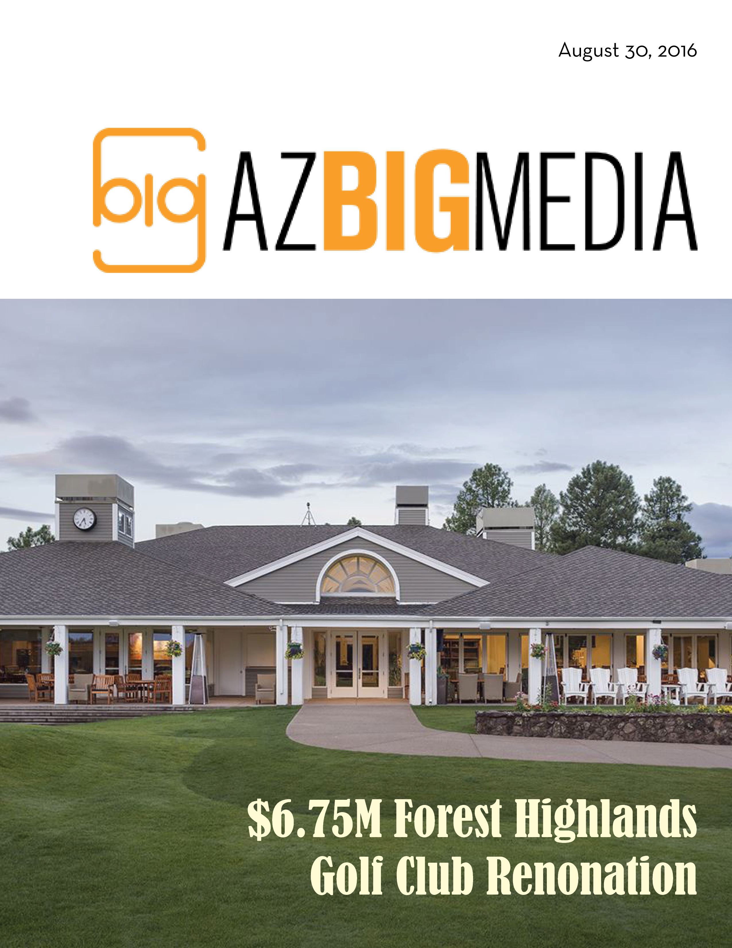 Forest Highlands Golf Clubhouse Renovation