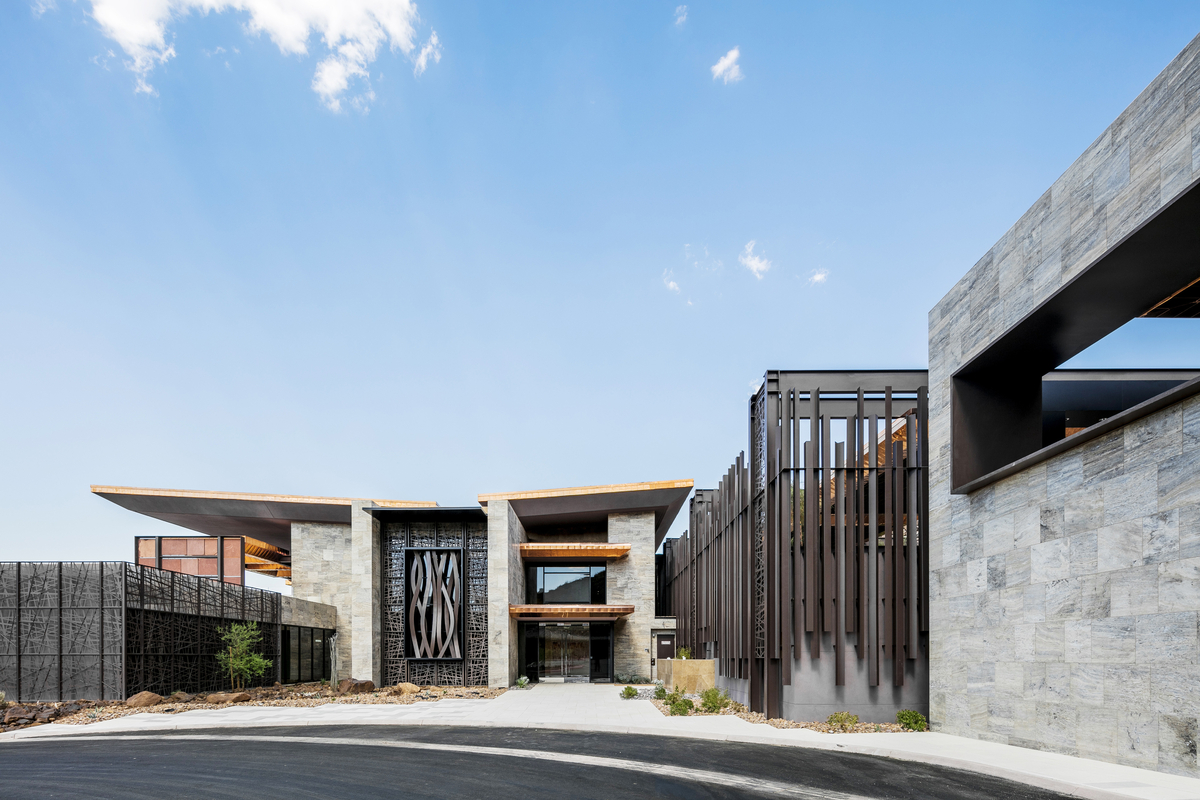11 Club House Exterior By Shay Velich