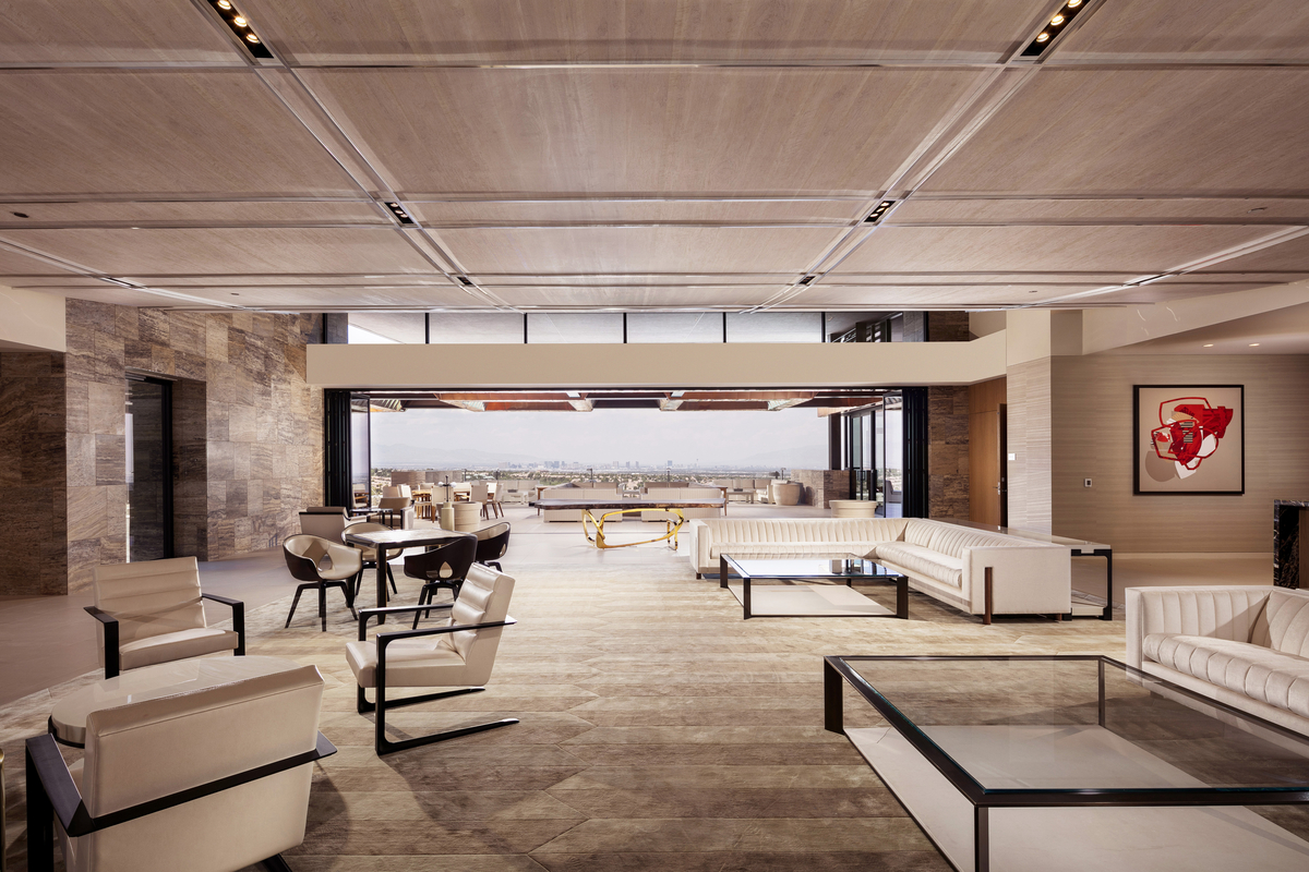 Edit1 Club House Interior By Shay Velich