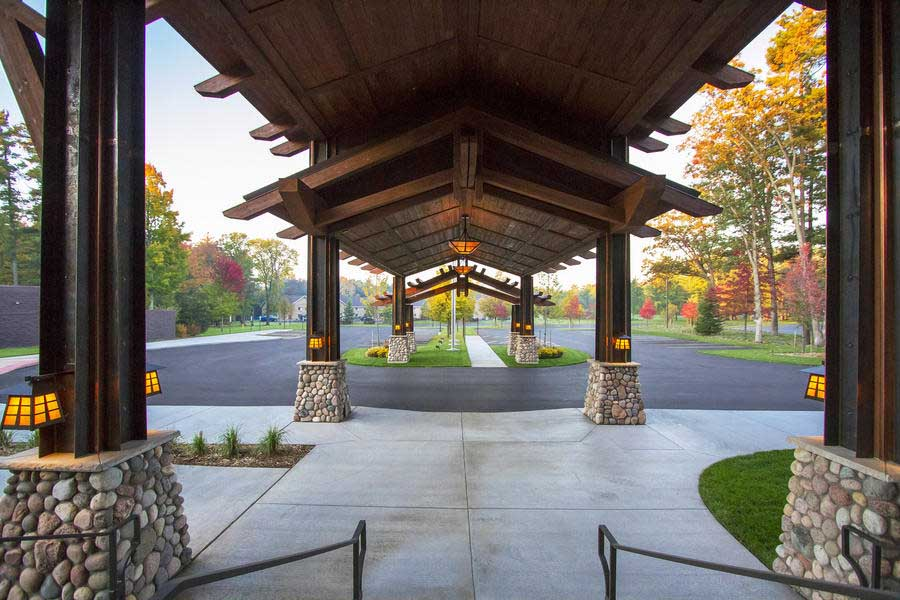 Sentry Portecochere Atparkinglot