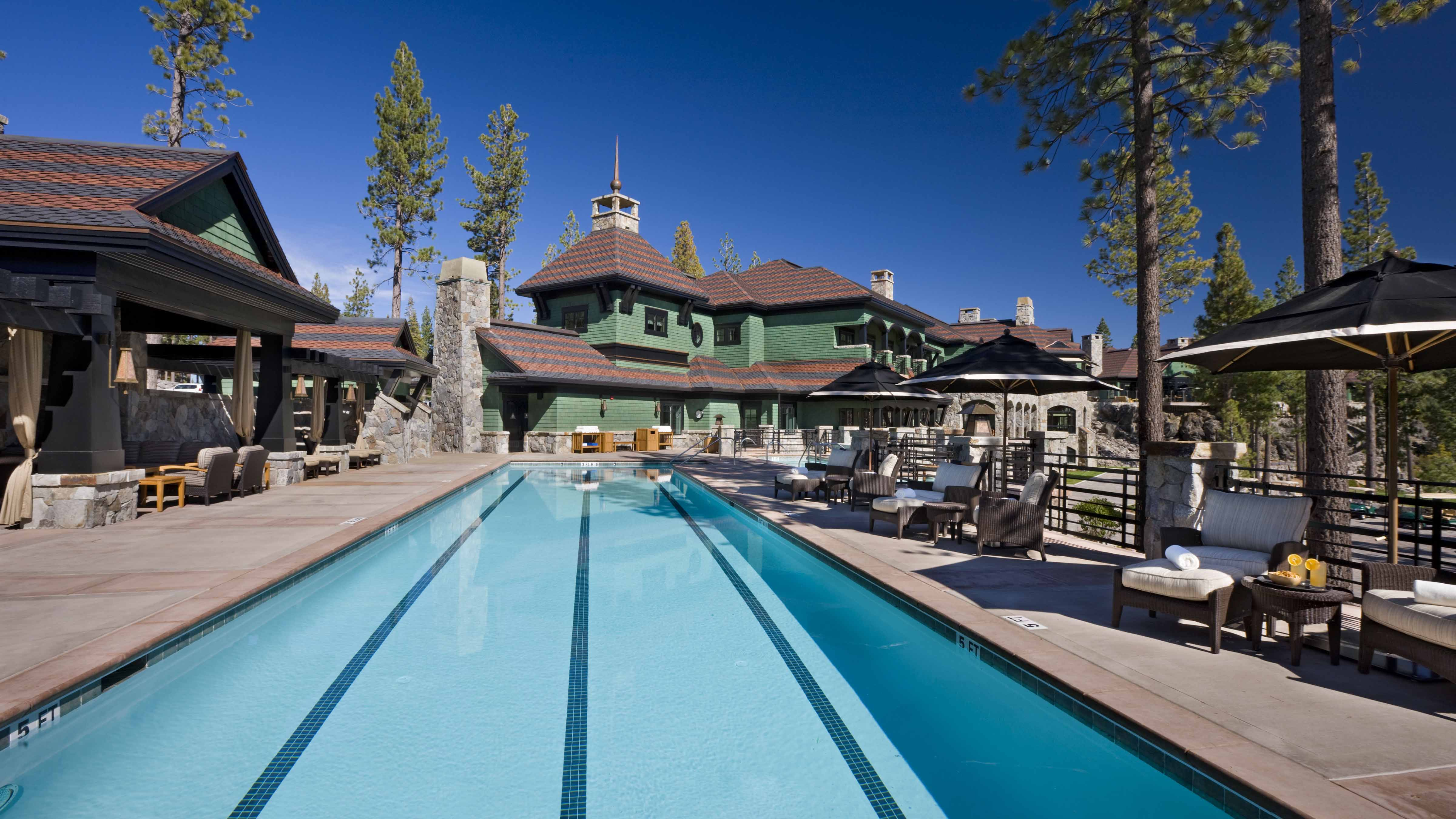 Martis Camp Lodge Golf Clubhouseexterior Of Pool