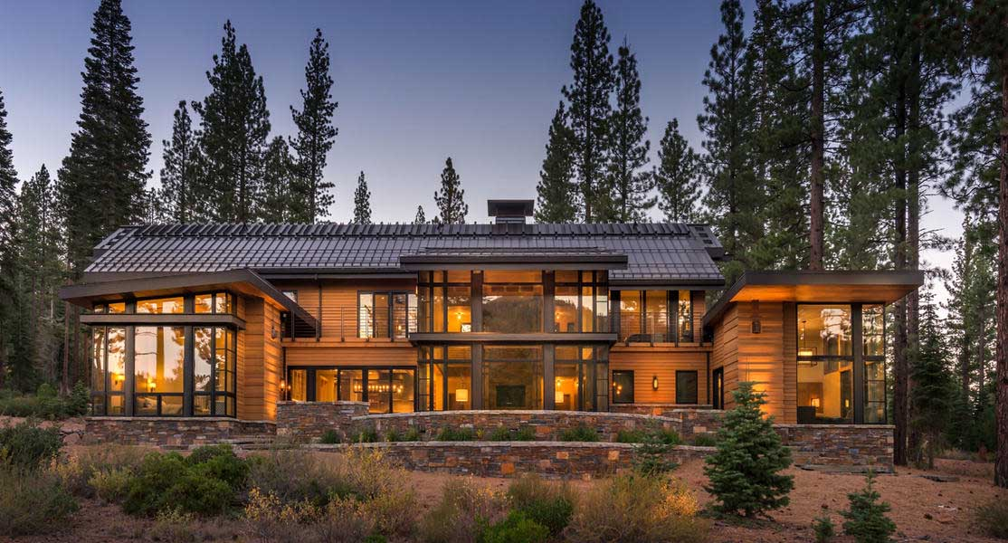 Martis Camp Lot Front Exterior