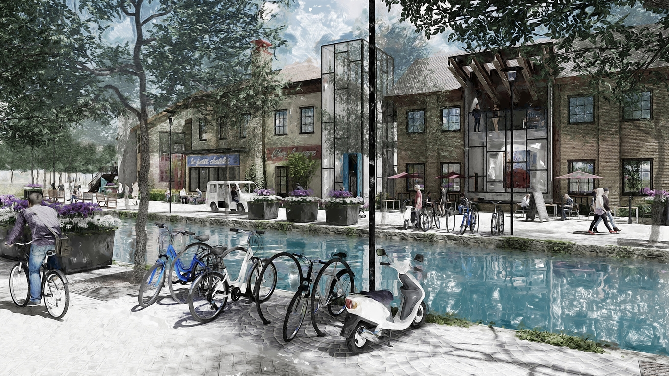 Mixed Use Villagecanal View 1